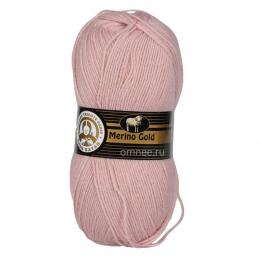 Merino Gold (Madam Tricote Paris), цв.:001 св.розовый, шерсть 49%, акрил 51% , 100 гр. 400 м.