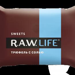"""Конфеты R.A.W. LIFE SWEETS """"Трюфель с солью"""""""