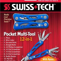 Мультитул Swiss+Tech pocket