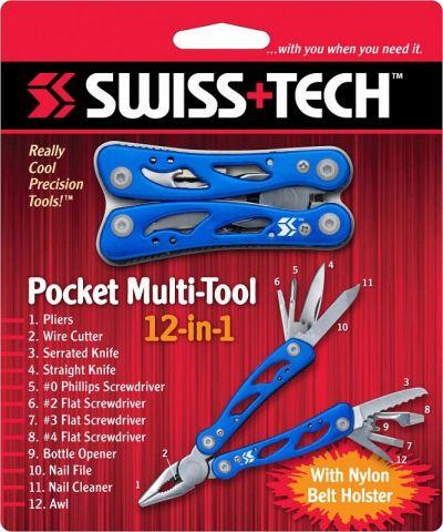 Мультитул Swiss+Tech pocket