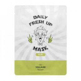 VILLAGE 11 FACTORY Тканевая маска с экстрактом алоэ Daily Fresh up Mask Aloe