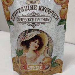 Хрустящие кусочки пастилы абрикос 50г.