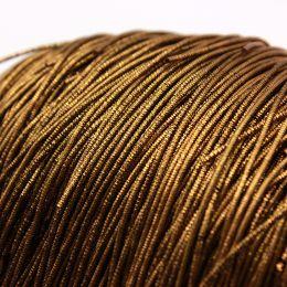 """Трунцал, цвет золотой бронзовый """"Golden Brown"""", 1 мм, 5 гр (Индия)"""
