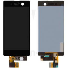 Дисплей для Sony E5603/E5633 (M5/M5 Dual) в сборе с тачскрином Черный