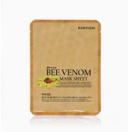 BARONESS Тканевая маска с экстрактом пчелинного яда Airlaid Face Mask BEE VENOM
