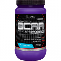 ULTIMATE NUTRITION, BCAA, банка 457гр. Blue raspberry