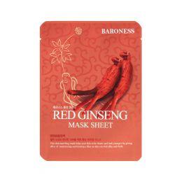 BARONESS Тканевая маска с экстрактом жень-шеня Red Ginseng Mask Sheet