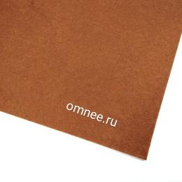 Фетр листовой жёсткий 2 мм, 20х30 см, цв.: 692 коричневый
