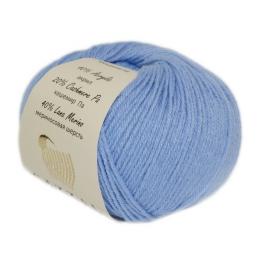 Gazzal baby wool 813 (голубой), мериносовая шерсть 40%, кашемир 20%, акрил 40%, 50 гр.175 м.