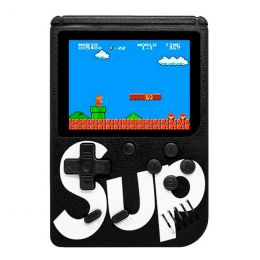 """Игровая приставка Sup 400 (3,0"""", цветной дисплей, 8 бит, AV-кабель), черная"""