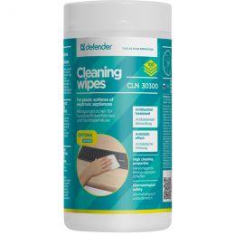 Defender CLN30300 салфетки чистящие (100 шт.)