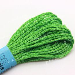 Мулине хлопок Gamma ярко-зеленый №0319 8 м
