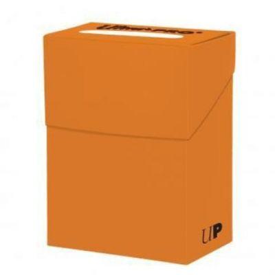 Ultra Pro - Темно-оранжевая коробочка на 60 карт