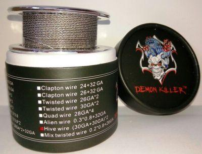 намотка Daemon Killer Hive wire (30GA+30GA)*2