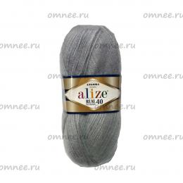 Alize Angora (REAL 40) 21, шерсть 40 %, акрил 60% , 100 гр. 480 м.