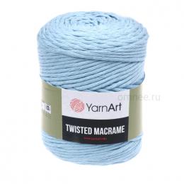 YarnArt Twisted Macrame 760 (св.голубой), хлопок 60%, вискоза 40%, 500 гр.210м. шпагат