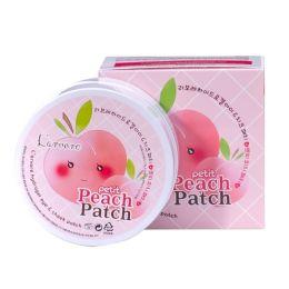 L'arvore PEACH Patch Гидрогелевые патчи для лица Hydrogel Eye & Cheeck Petit