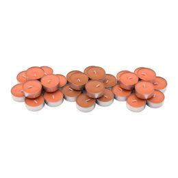 СИНЛИГ Свеча греющая ароматическая, персик и апельсин, оранжевый, 30 шт