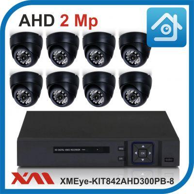 Комплект видеонаблюдения на 8 камер XMEye-KIT842AHD300PB-8.