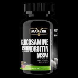MAXLER, Glucozamine Chondroitin MSM, 90таб