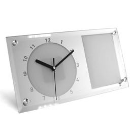 Часы стеклянные под сублимацию 16x30см