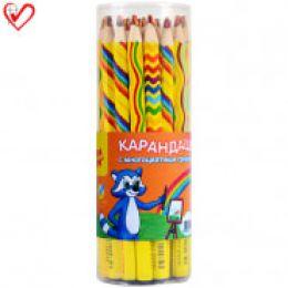 """карандаш с многоцветным профилем """"Мульти-Пульти"""""""