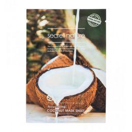 SECRET NATURE COCONUT SHEET MASK Питательная маска для лица с кокосом