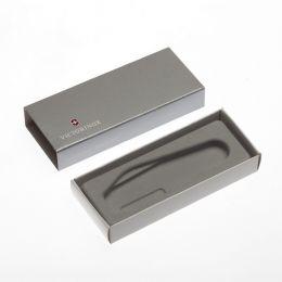 Коробка для ножей VICTORINOX 84 мм толщиной 1-2 уровня, картонная, серебристая