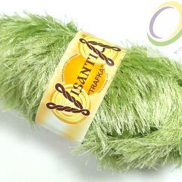 Пряжа травка Visantia, цв.: св. зеленый 0106
