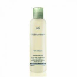 Lador Шампунь с хной, кактусом и ментолом Pure henna shampoo 200m
