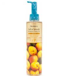 Deoproce Увлажняющее масло для тела с экстрактом абрикоса Soft & Smooth Moisture Body Oil Apricot