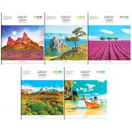 тетрадь 96 листов путешестве лин