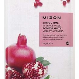 MIZON Тканевая маска для лица с экстрактом гранатового сока Joyful Time Essence Mask Pomegranate