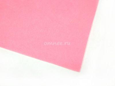 Фетр листовой мягкий 1,2 мм, 20х30 см, цв.: 613 св.розовый