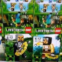 """Конструктор 1796 """"Minecraft"""", 16шт в блоке [Коробка]"""