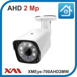 XMEye-700AHD2MW-2,8.(Металл/Белая). 1080P. 2Mpx. Камера видеонаблюдения.