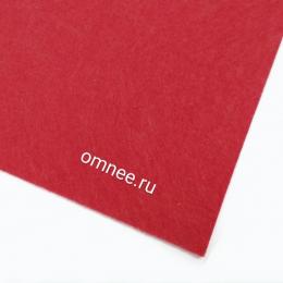 Фетр листовой мягкий 1,2 мм, 20х30 см, цв.: 602 красный