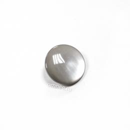 Пуговица ''карамель'' на ножке 15 мм, цв.: серый, шт.