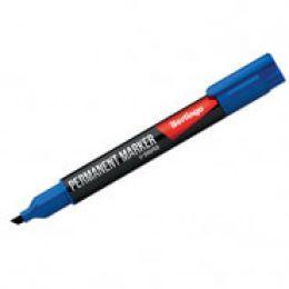 Маркер перм. синий. скошенный. 0.5-4мм BMc_04602 Berlingo