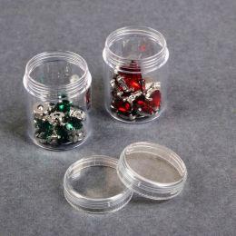 Баночки (1 шт.) для бисера, пайеток, шатонов и других материалов СП (диаметр = 3,9 см., высота = 5 см, вес/шт 18гр)