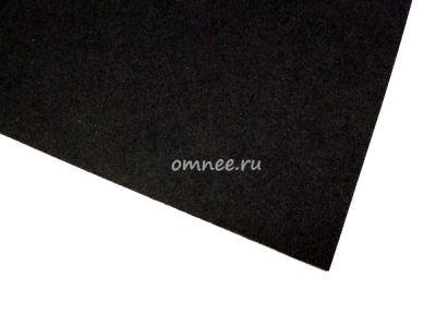 Фоамиран 1 мм, 20х30 см, цв.: чёрный вк-040