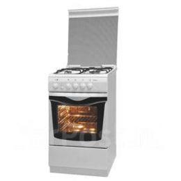 Кухонная плита с электр.духовкой DE LUXE 506031.01Г(кр) белая