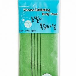 SB Viscose Мочалка для душа Viscose Back Bath Towel 90см х 28см
