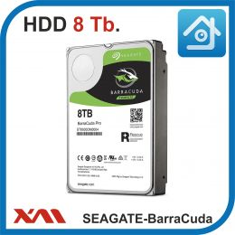 HDD 8 Tb. Seagate SkyHawk ST8000VX004. Жесткий диск 3.5.