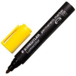 """Маркер STAEDTLER """"Lumocolor 352"""" перм. круг., 2мм, желтый, возможность дозаправки"""