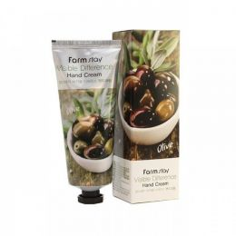 FarmStay Visible Difference Hand Cream Olive 100ml Крем для рук с экстрактом оливок