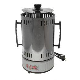 Электрошашлычница LuazON LKE-02, 6 шампуров, 1000Вт, 6 чашек для жира, нерж. сталь