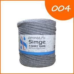 Трикотажная пряжа Simge, цв.: 004 серый меланж
