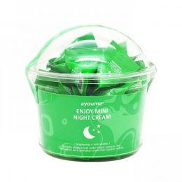 Ayome Enjoy mini night cream centella ночной крем с центеллой азиатской