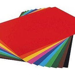 Цветная бумага для творчества 300г/м А4 Folia 1 лист 21х30